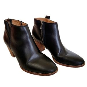 Madewell Billie Boot Leather